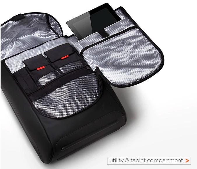 Zero-G Backpack 首款減重防水背包 117