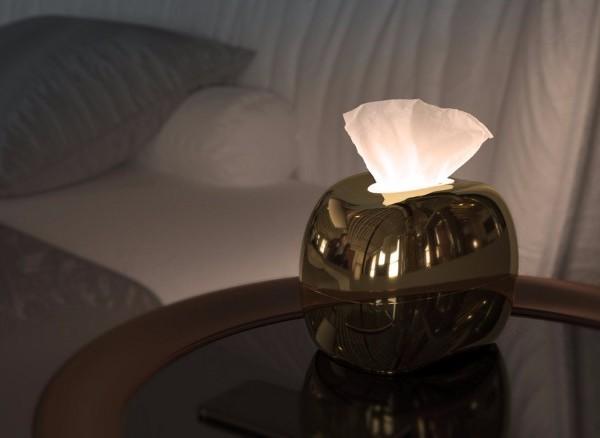 台灣Mirro觸碰式感應面紙燈5