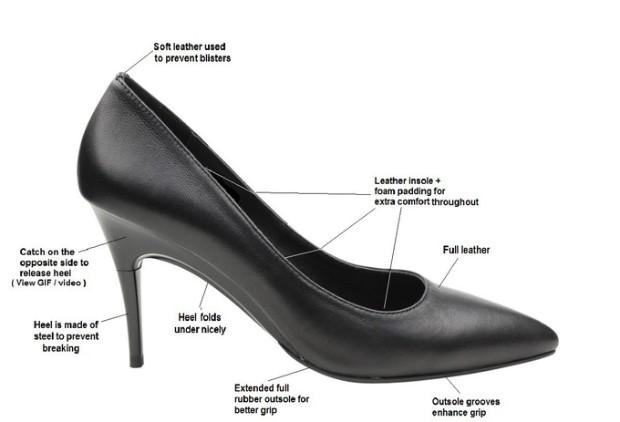 新加坡 Gena 可調整高度的高跟鞋2