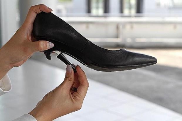 新加坡 Gena 可調整高度的高跟鞋8