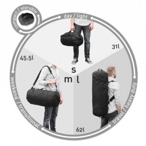 美國 Adjustable 可改變大小的背包24