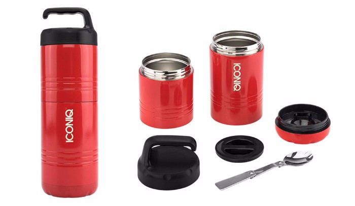 美國Iconiq Qore不鏽鋼食物壺2