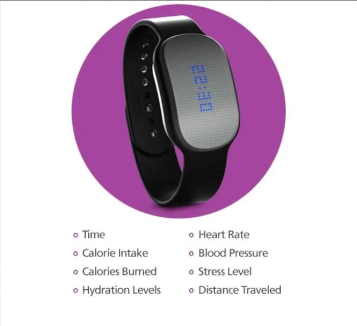 GoBe 2飲食追蹤健康手環11