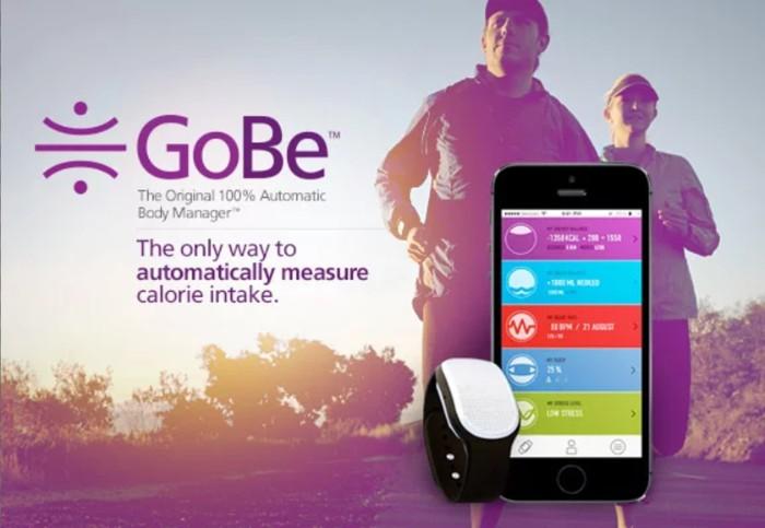 GoBe 2飲食追蹤健康手環20
