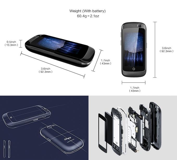 Jelly Pro 全球首款 極細4G智能手機1