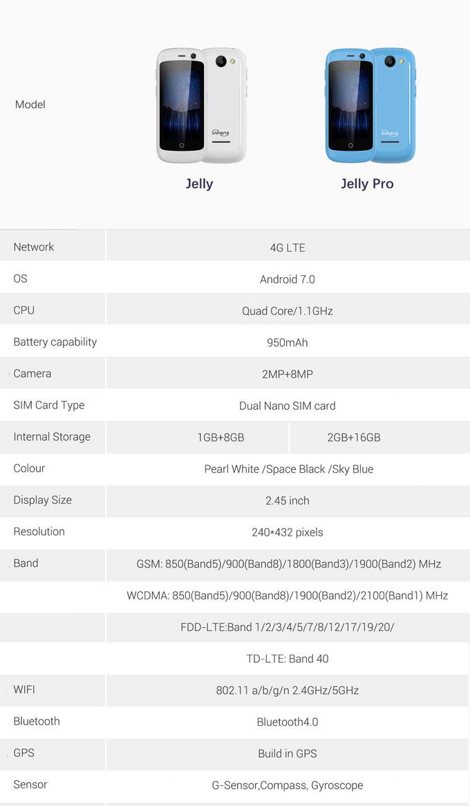 Jelly Pro 全球首款 極細4G智能手機15