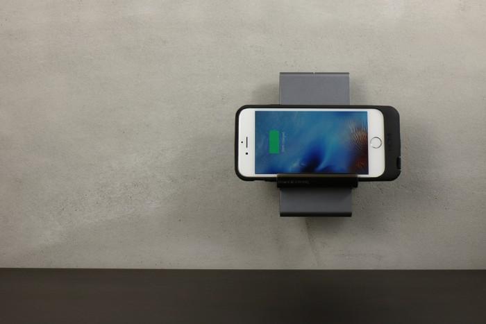 Multi dock- HOMI 鋁鎂合金手機無線充電座