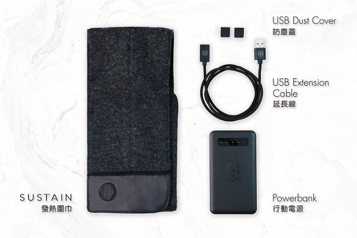 台灣SUSTAIN發熱圍巾27.0