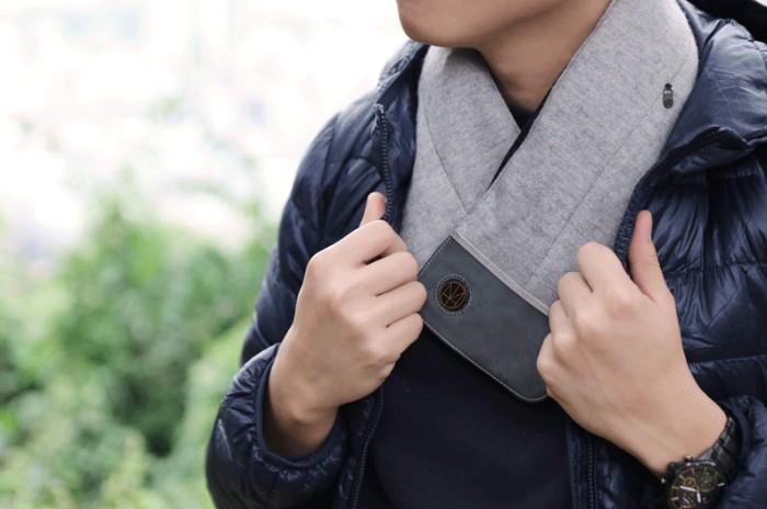 台灣SUSTAIN發熱圍巾5