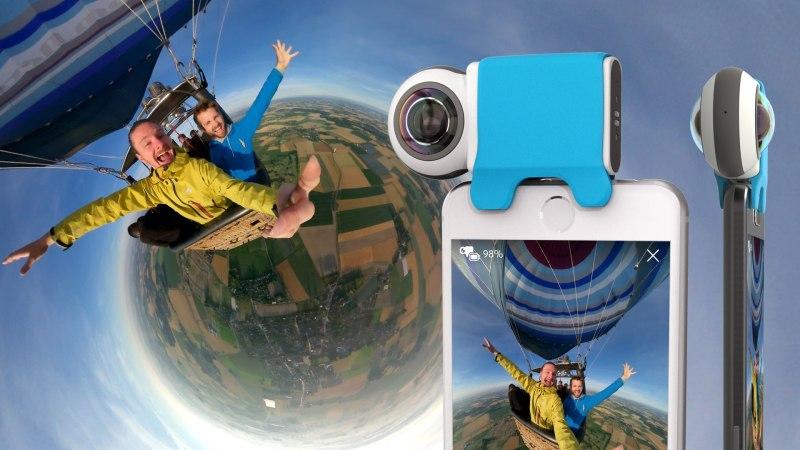 法國 Giroptic IO 360°全景攝像鏡頭2