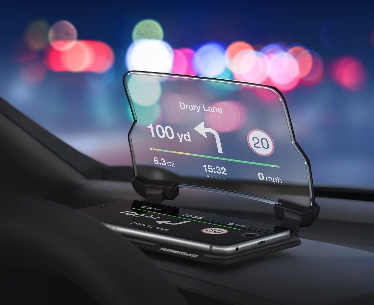 美國 Hudway Glass 駕車抬頭顯示器35