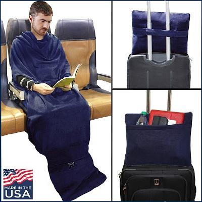 美國 Smartblanket 便攜旅行毯10