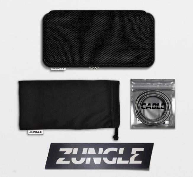 美國 Zungle 骨導傳聲太陽眼鏡 package