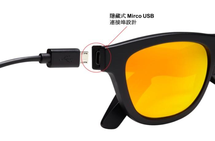 美國Zungle骨導傳聲太陽眼鏡7