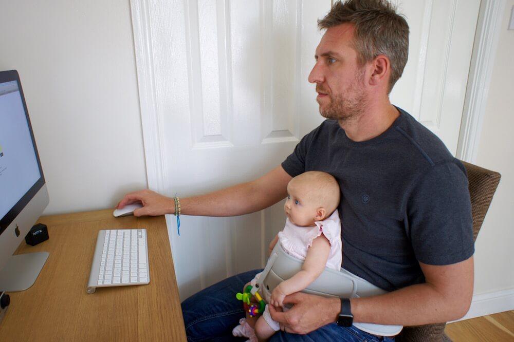 英國 Lapbaby 嬰兒安坐帶16