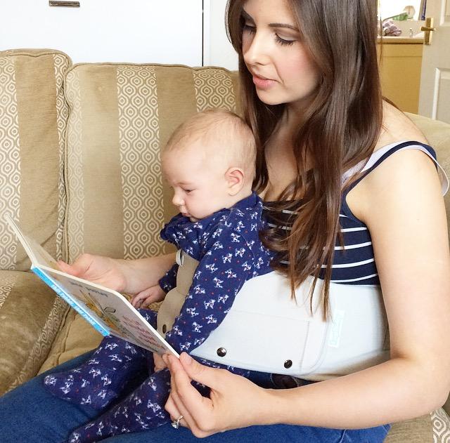 英國 Lapbaby 嬰兒安坐帶6