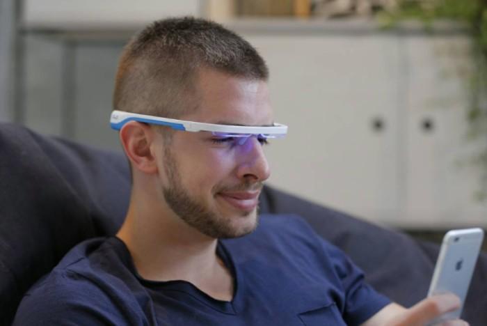 16美國AYO抗時差改善睡眠眼鏡