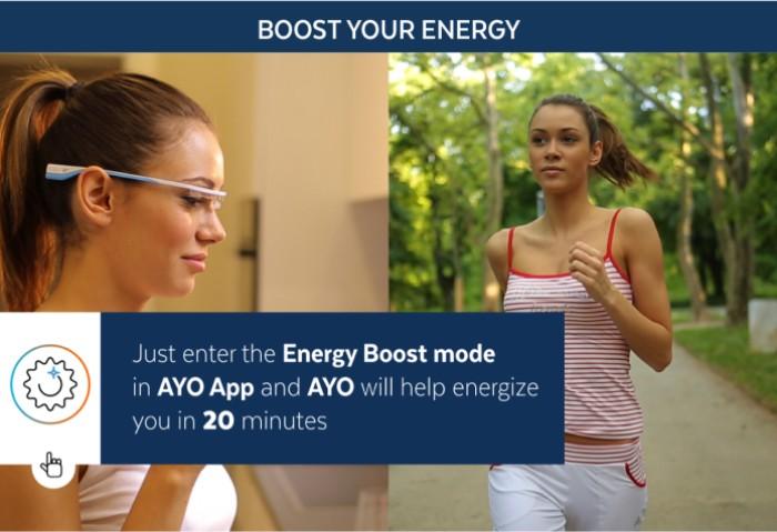 8美國AYO抗時差改善睡眠眼鏡