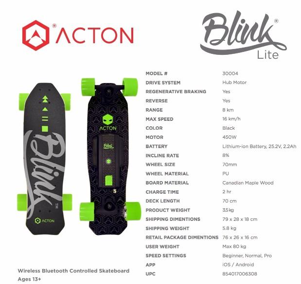 BLINK LITE美國 Blink 遙控電動滑板