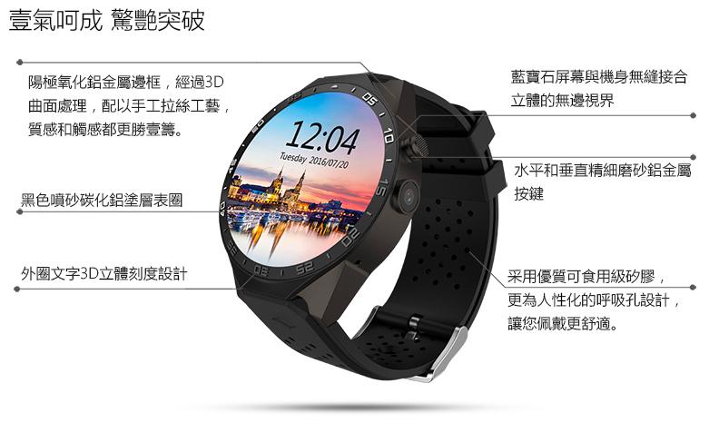 King Wear 史上功能最強 智能手錶6
