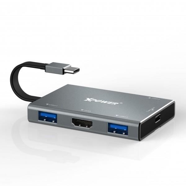 LT1 多用途HDMI PD Hub 3