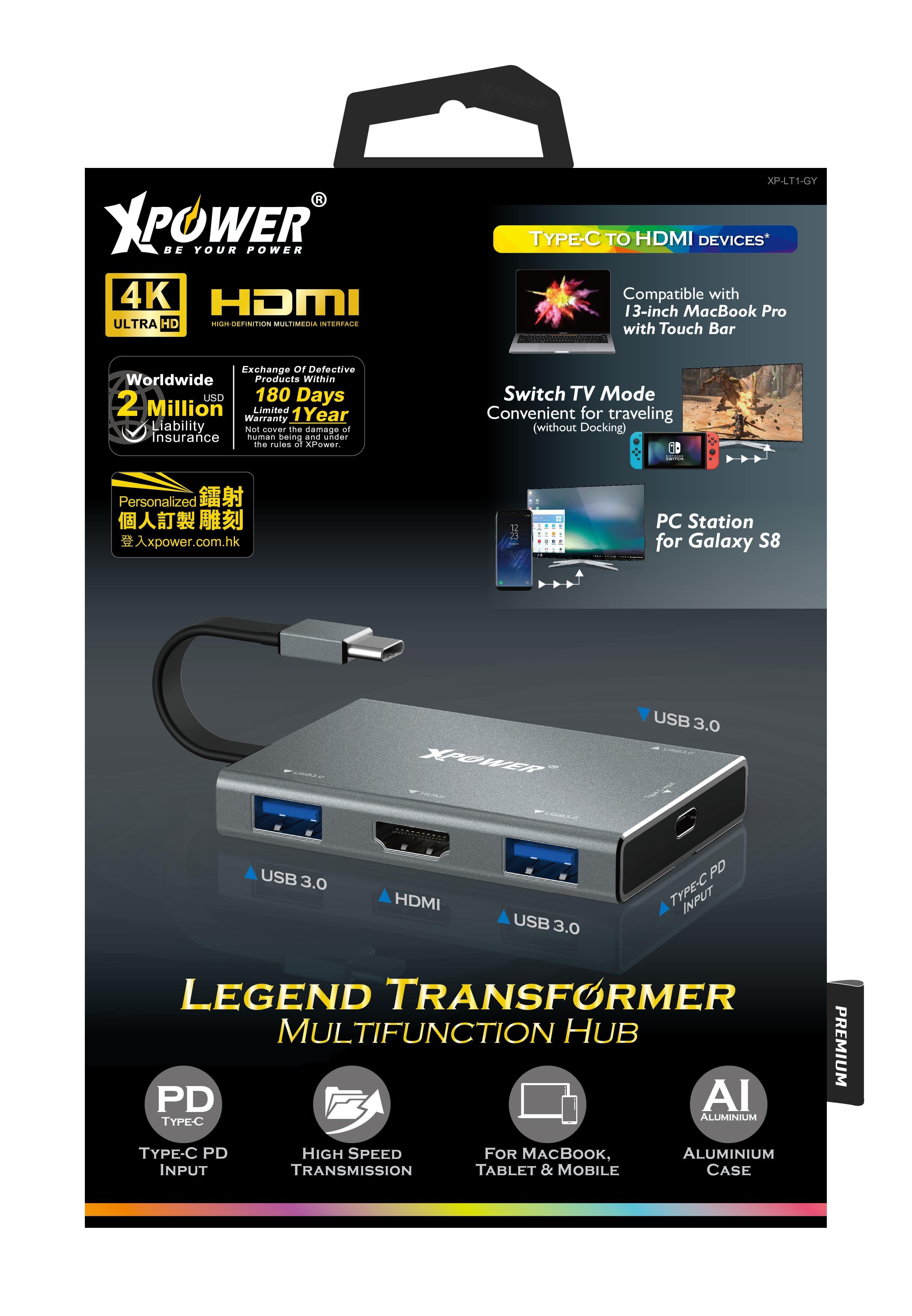LT1 多用途HDMI PD Hub 5