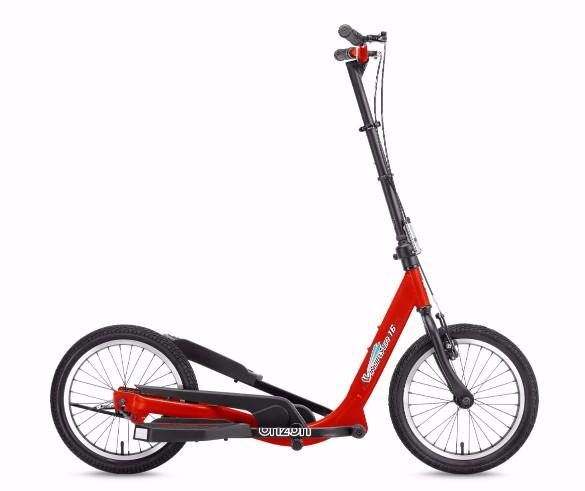 W16- red-1Stepwing 健身單車