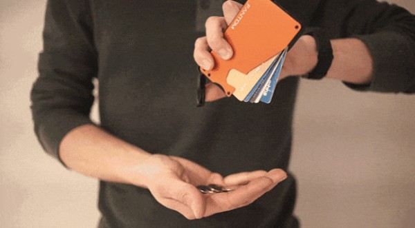 加拿大 Fantom 隱藏硬幣卡片最薄銀包12