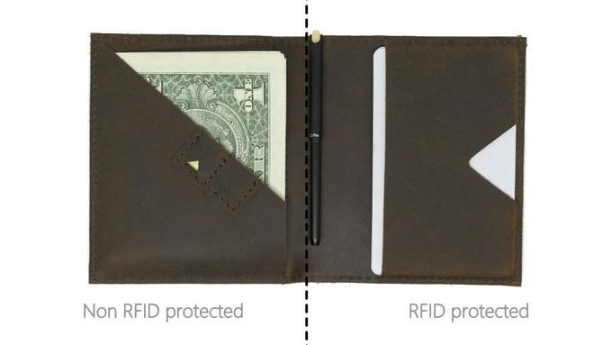 新加坡 Mark Bifold 真皮RFID錢包13