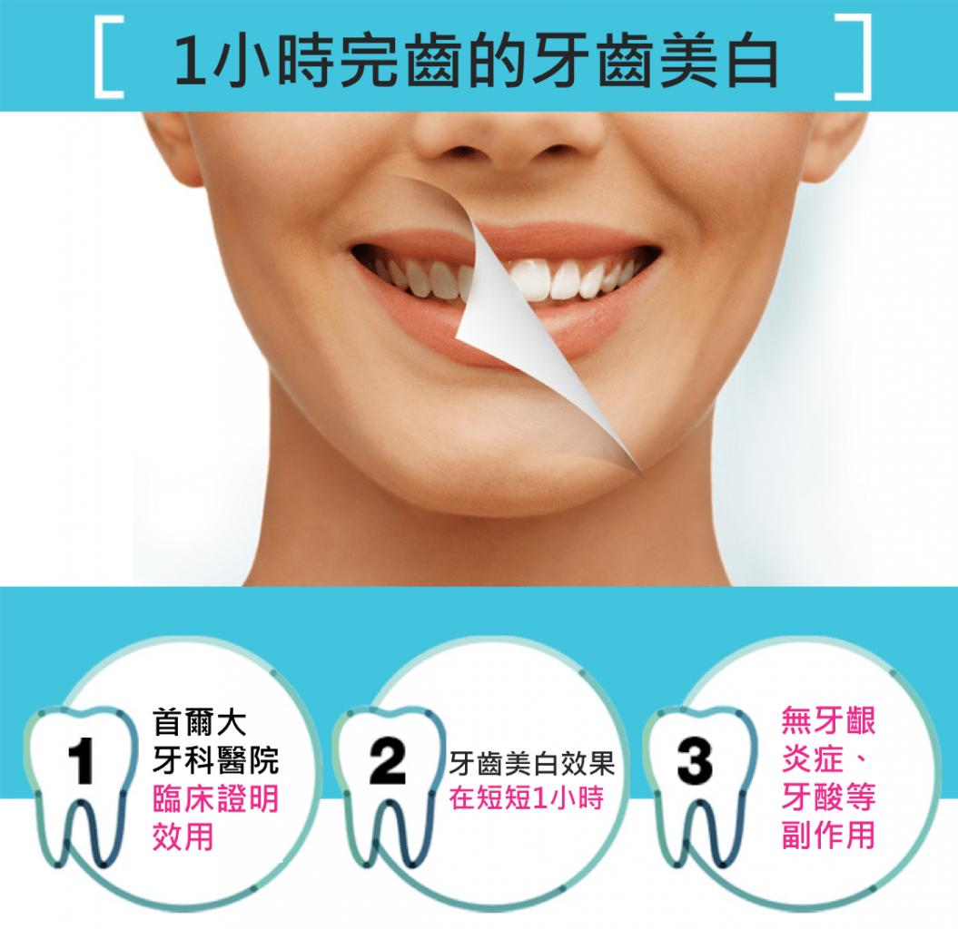 韓國 Lutooth 家用牙齒美白機3