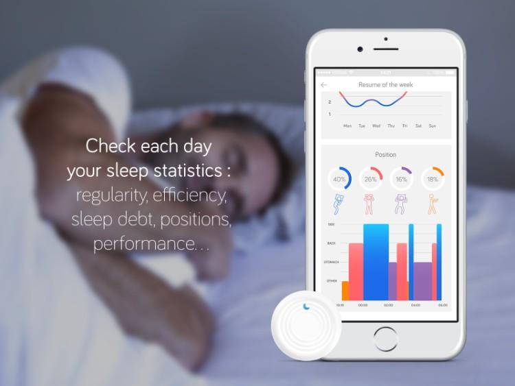 1法國SLEEPSENSOR智能睡眠追踪器