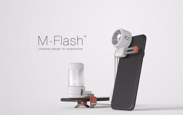 1韓國M-Flash 手機外接閃光燈