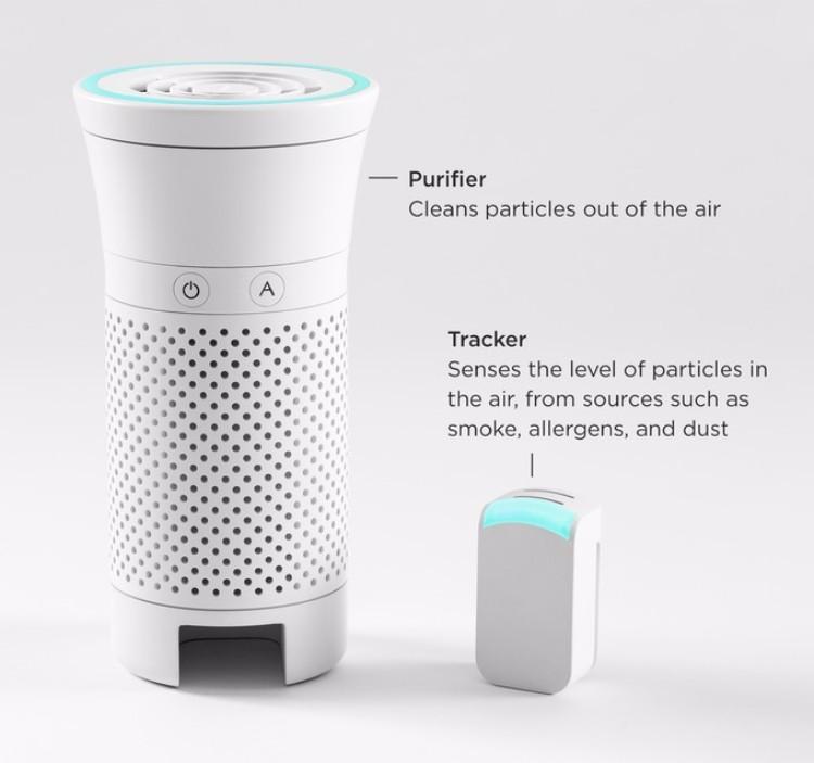 16美國Wynd便攜式智能空氣淨化機