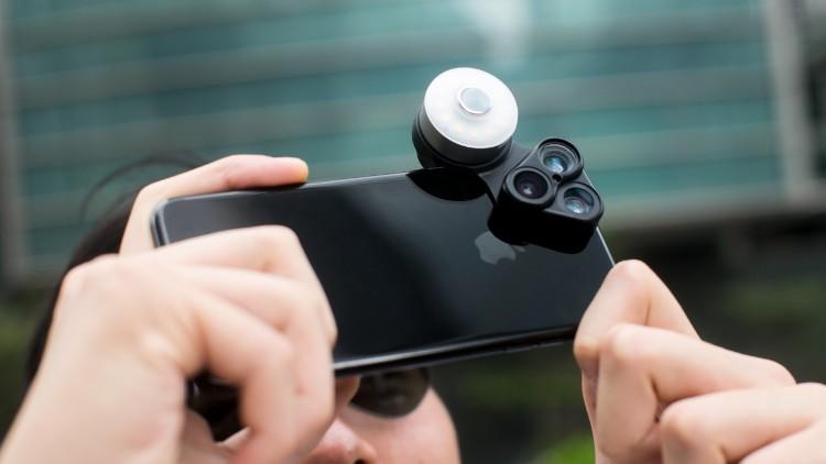 29RevolCam™ 三合一手機外置鏡頭組