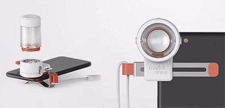3韓國M-Flash 手機外接閃光燈
