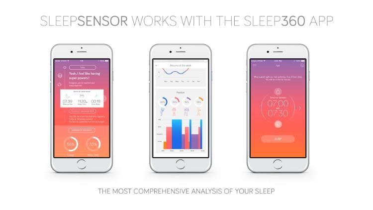 5法國SLEEPSENSOR智能睡眠追踪器