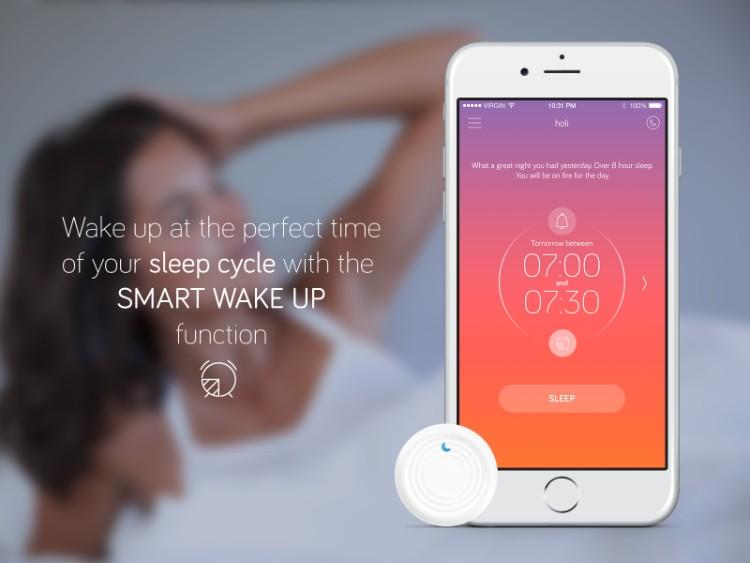 8法國SLEEPSENSOR智能睡眠追踪器