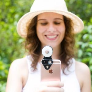 8RevolCam™ 三合一手機外置鏡頭組