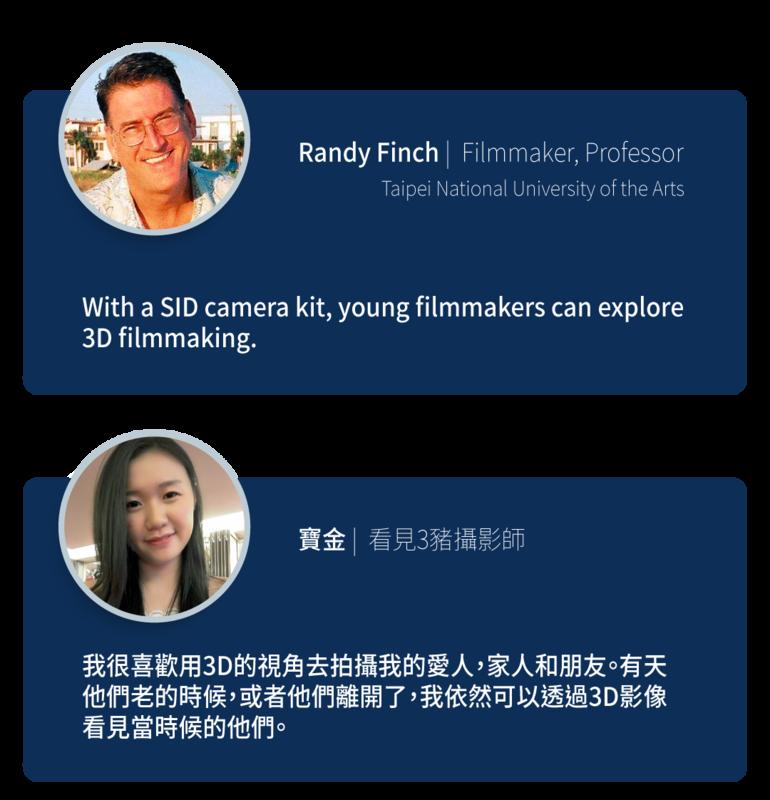 SID 全球第一部3D智能相機39