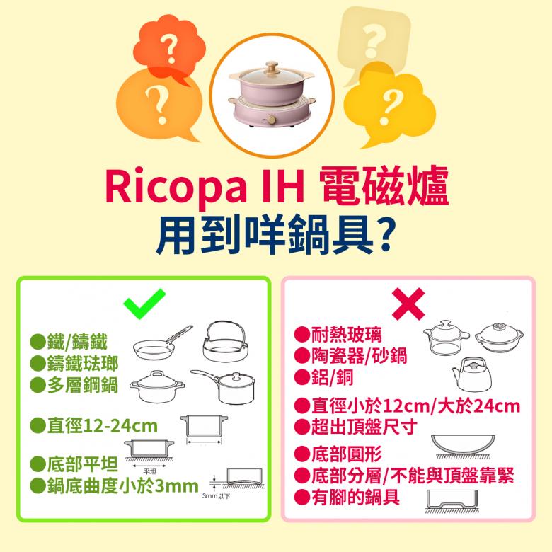 日本 IRIS OHYAMA Ricopa IH 打邊爐 電磁爐 - 7