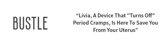 美國 Livia 一鍵關掉經痛神器13