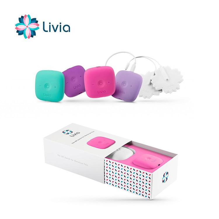 美國 Livia 一鍵關掉經痛神器23