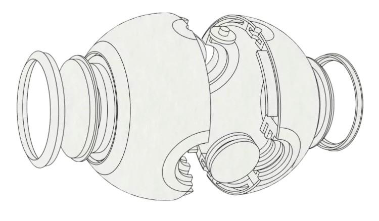11台灣LUNA360最輕便 球體 全景攝影機