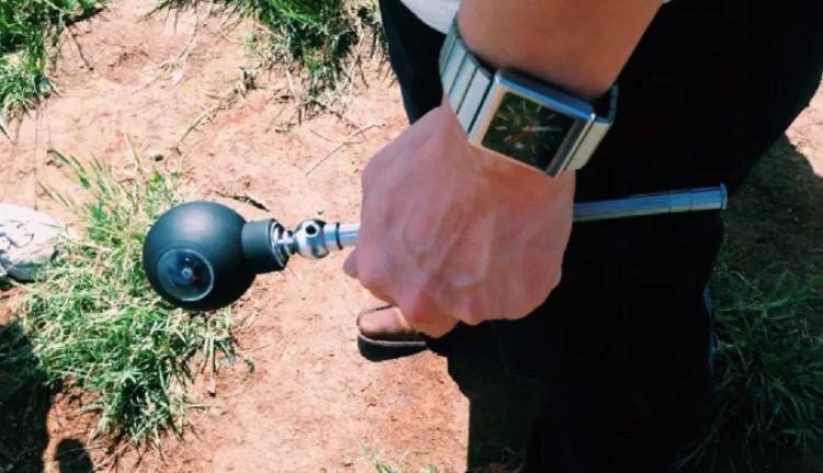 13台灣LUNA360最輕便 球體 全景攝影機