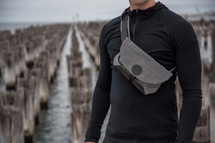 15澳洲Air Sling多功能防盜便攜側肩包