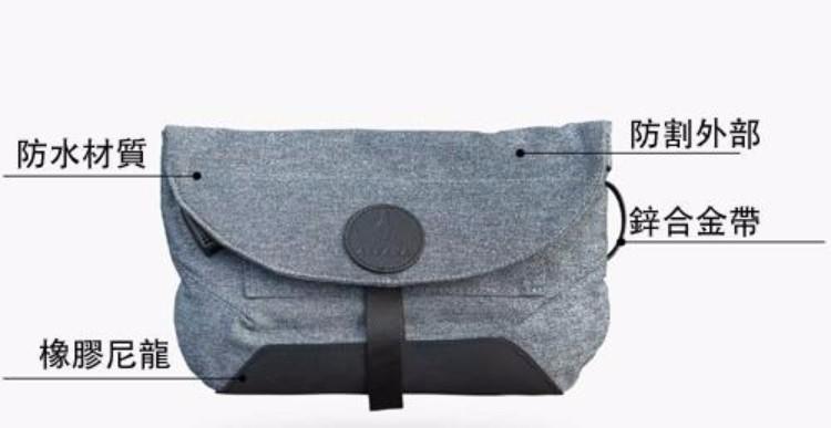2澳洲Air Sling多功能防盜便攜側肩包