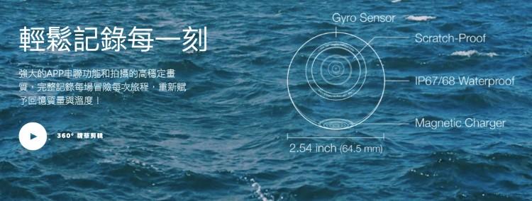 4台灣LUNA360最輕便 球體 全景攝影機