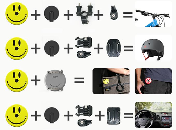 FOMO 隱形徽章相機8