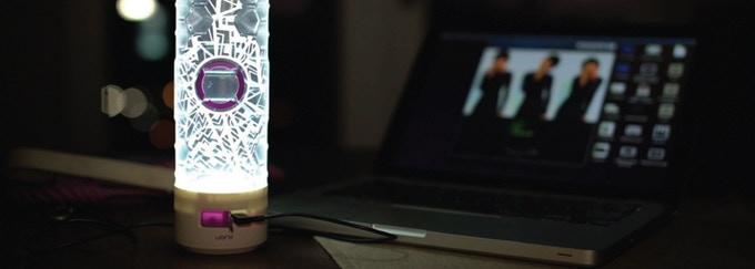 Hexglo 二合一便攜月球燈水瓶11