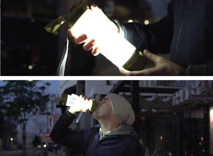 Hexglo 二合一便攜月球燈水瓶5